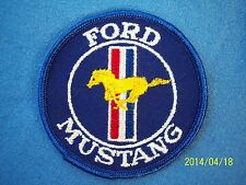 Vintage Ford Mustang Patch Boss 302 Cobra Shelby Mach 1 Bullitt 50th Anniversary