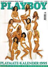 Playboy 01/1995  DANIELA BAUMANN + Playmate-Kalender   Januar/1995