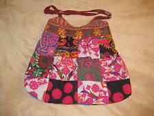 Multi-Colored Sari Bag