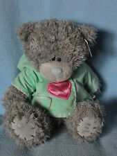 Me To You peluche ourson 20 cm assis *-* MA FILLE *-* veste verte coeur rouge