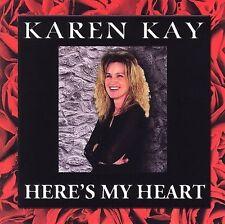 ~COVER ART MISSING~ Karen Kay CD Here's My Heart