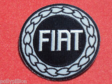 FIAT CARS ITALY BLUE DISC RACING SEW/IRON ON PATCH