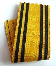 Ancien ruban épais d'ancienne fabrication pour médaille, 13 cm x 37 mm.