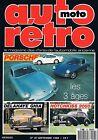 Auto Moto Retro N°97 sept 1988 : Porsches Delahaye ghia Hotchkiss 2050