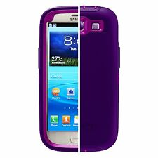 OtterBox Defender Series for Samsung Galaxy S III-Retail Packaging-Purple