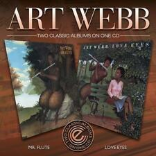 ART WEBB Mr Flute / Love Eyes NEW & SEALED SOUL JAZZ FUSION CD (EXPANSION) 70s