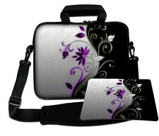 LUXBURG 14,2 Inch Design Laptop Notebook Shoulder Bag with Matching Mousepad #CY