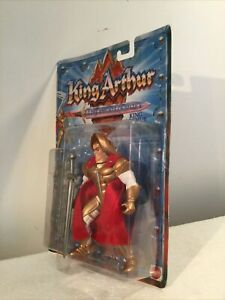 MOC King Arthur And The Knights Of Justice King Arthur Action Figure Mattel 1992