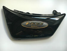 "OEM Suzuki Cubierta lateral izquierda con emblema Negro VS 1400 ""47210-38B00 """