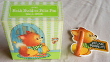 "Vintage 1982 Avon ""BATH BUDDIES FELIX FOX"" Children's Wall Hook - NEW!"