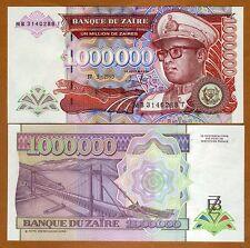Zaire, 1,000,000 (1000000) Nouveaux Zaires, 1993, P-45b, UNC