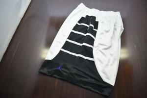 Nike Jordan Basketball Gym Shorts Dri Fit Striped With Pockets Mens Size 2XL XXL