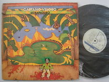 CAETANO VELOSO Estrangeiro ROCK LP PHILIPS Brazilian Import INSERT