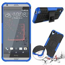 Hybrid Impact Armor Rugged Hard Case Cover Stand For HTC Desire 530 / Desire 630
