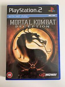 Mortal Kombat Deception PlayStation 2 / PS2 - VGC w/ Manual + Inners Free P&P