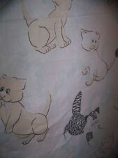 Vintage Pound Purries Bed Sheet Pound Puppies Tonka Rare Twin Flat SHIPS FAST