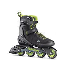 Rollerblade Men's Elite Performance Inline Skates, Black & Lime Green (Open Box)