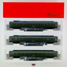 RIVAROSSI H0 3659/60/61 - LOTE 3 COCHES 8000 RENFE 1ª/2ª CL. - NUEVO! - TOP!