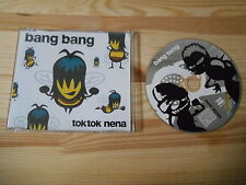 CD Pop Tok Tok Nena - Bang Bang (6 Song) MCD WEA WARNER NDW