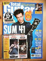 Total Guitar magazine #107 - Mar 2003 with 2 x CD Sum 41 Tenacious D Nirvana ++