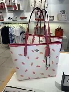 NWT Coach City Tote With Popsicle Print New Color
