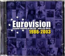 EUROVISION SONG CONTEST- ICELAND'S ENTRIES 1986-2003 The Best of Iceland 2-CD