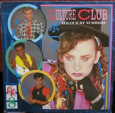 CULTURE CLUB COLOUR BY NUMBERS LP Virgin V2285 Fold Out Lyric Insert 1983 EX