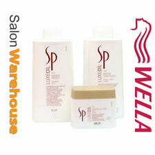Wella SP Luxe Oil System Professional Shampoo Conditioner Litres 400ml Mask