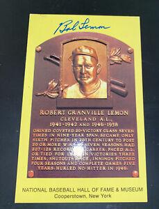 LOT 6 MLB HOF Plaque Postcards Mantle, Williams, Jennings, Lemon, Mize, Hunter