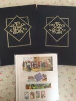 Collection of 1986 Australian Post Year Book Album with Stamps - Deluxe Edition