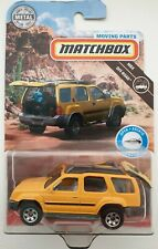 Matchbox Moving Parts 2000 Nissan Xterra in Yellow New!