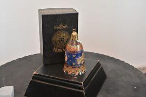 Rosenthal Versace Glas, Glasglocke Christmastide 2003, 1. Wahl, neu & unbenutzt,