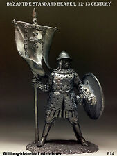 Byzantine warrior Tin toy soldier 54 mm, figurine, metal sculpture