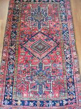 antique ancien tapis persan old Persian rug tribal qashqäi ghashghäi 142 X 92 cm
