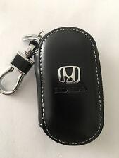 Gloss Leather Key Case Remote Holder Cover Wallet for Honda Keys Model