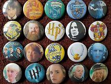 Harry Potter Button Badges x 20. Pins. Job lot. Wholesale. Collector. Bargain.