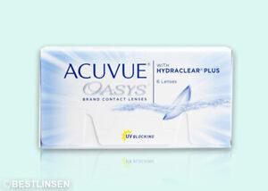 Acuvue Oasys Hydraclear PLUS Johnson&Johnson 1x6 Kontaktlinsen BC 8.4 und 8.8