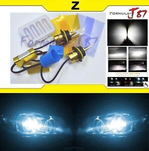 LED Kit Z 96W 9004 HB1 8000K Icy Blue Headlight Two Bulbs High Low Plug Play OE