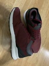 Men's Red textile fibers, soft Leather Sneakers