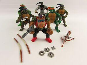 Teenage Mutant Ninja Turtles 2002 Bepop (88) Action Figures Weapons Foot Soldier