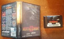 Video Gioco Retro Game Sega Mega Drive System Pal Box Mortal Kombat 2