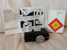 Polaroid SX-70 Film Camera #132 Self-Timer+Box & Instructions-Ships Same Day