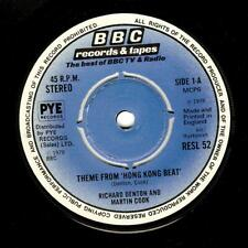 RICHARD DENTON AND MARTIN COOK Theme From Hong King Beat 7 Inch BBC RESL 52 1978