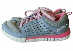 Reebok Womens Lace Up Running Shoes Size US 5 EUR 36.5 Sneakers Workout Active