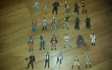 Star wars action figures job lot used old modern loose kids various toys good