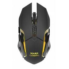 Mars Gaming MMW Mouse Wireless con sensore ottico a 3200 DPI