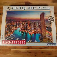 Clementoni DUBAI MARINA Puzzle 1500 Pieces Emirates Cayan Tower Premium Quality