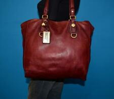 MARC BY MARC JACOBS Larger Red Textured Leather hobo tote shoulder purse bag
