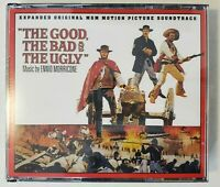 Quartet 2020 The Good The Bad The Ugly Expanded Soundtrack Ennio Morricone 3 CDs