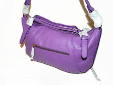 BNWT MAXX NEW YORK LARGE GENUINE LEATHER TOTE HOBO HAND BAG with SHOULDER STRAP